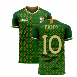 Ireland 2020-2021 Home Concept Football Kit (Libero) (BRADY 10)
