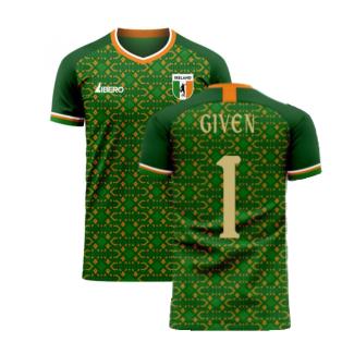 Ireland 2020-2021 Home Concept Football Kit (Libero) (GIVEN 1)