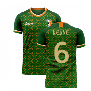 Ireland 2020-2021 Home Concept Football Kit (Libero) (KEANE 6)