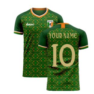 Ireland 2020-2021 Home Concept Football Kit (Libero) (Your Name)