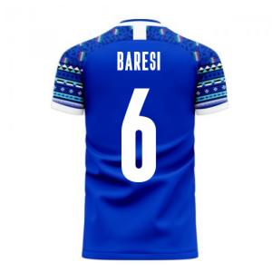 Italy 2020-2021 Home Concept Football Kit (Libero) (BARESI 6)