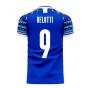 Italy 2020-2021 Home Concept Football Kit (Libero) (BELOTTI 9)