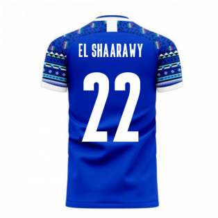 Italy 2020-2021 Home Concept Football Kit (Libero) (EL SHAARAWY 22)