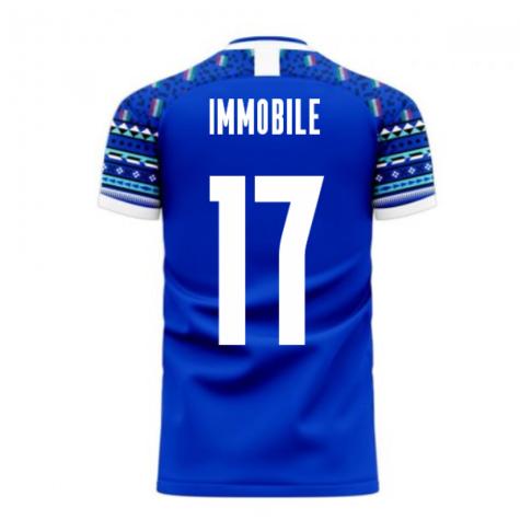 Italy 2020-2021 Home Concept Football Kit (Libero) (IMMOBILE 17)
