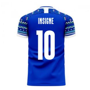 Italy 2020-2021 Home Concept Football Kit (Libero) (INSIGNE 10)