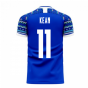Italy 2020-2021 Home Concept Football Kit (Libero) (KEAN 11)