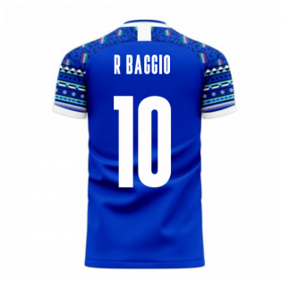 Italy 2020-2021 Home Concept Football Kit (Libero) (R BAGGIO 10)