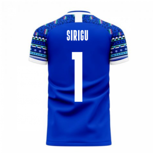 Italy 2020-2021 Home Concept Football Kit (Libero) (SIRIGU 1)