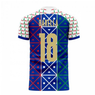 Italy 2020-2021 Renaissance Home Concept Football Kit (Libero) (BARELLA 18)