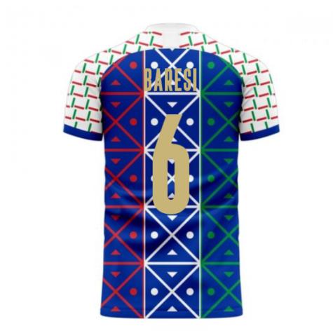 Italy 2020-2021 Renaissance Home Concept Football Kit (Libero) (BARESI 6)