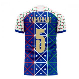 Italy 2020-2021 Renaissance Home Concept Football Kit (Libero) (CANNAVARO 5)