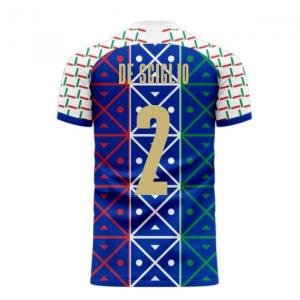 Italy 2020-2021 Renaissance Home Concept Football Kit (Libero) (DE SCIGLIO 2)