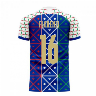 Italy 2020-2021 Renaissance Home Concept Football Kit (Libero) (FLORENZI 16)