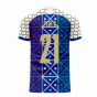 Italy 2020-2021 Renaissance Home Concept Football Kit (Libero) (PIRLO 21)