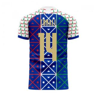 Italy 2020-2021 Renaissance Home Concept Football Kit (Libero) (TONALI 14)