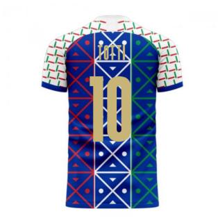 Italy 2020-2021 Renaissance Home Concept Football Kit (Libero) (TOTTI 10)
