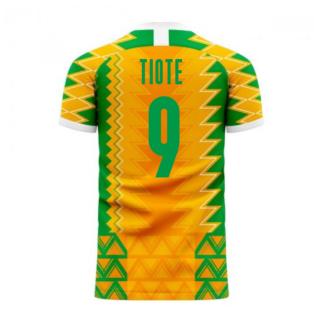 Ivory Coast 2020-2021 Home Concept Football Kit (Libero) (TIOTE 9)