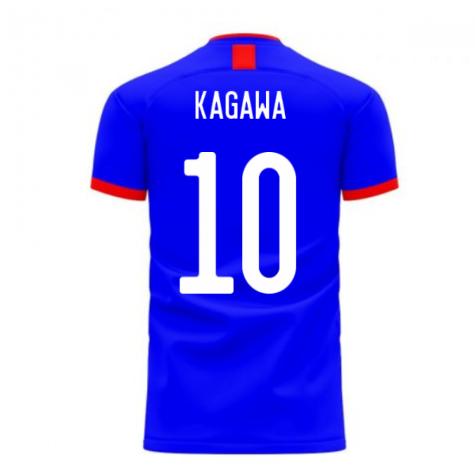 Japan 2020-2021 Home Concept Football Kit (Airo) (KAGAWA 10)