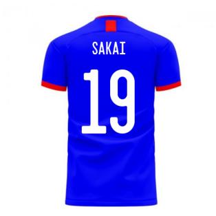 Japan 2020-2021 Home Concept Football Kit (Airo) (SAKAI 19)