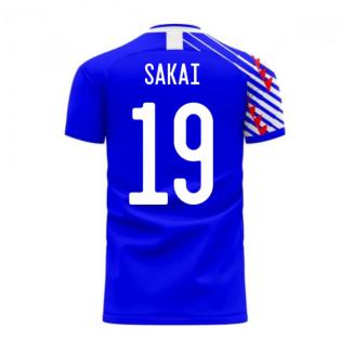 Japan 2020-2021 Home Concept Football Kit (Libero) (SAKAI 19)