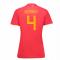 2018-19 Belgium Home Womens Shirt (Kompany 4)
