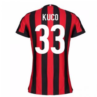 2017-2018 AC Milan Womens Home Shirt (Kuco 33)