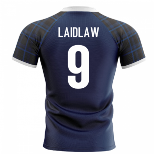2020-2021 Scotland Home Concept Rugby Shirt (Laidlaw 9)