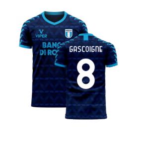 Lazio 2020-2021 Away Concept Football Kit (Viper) (Gascoigne 8)