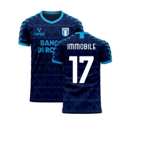 Lazio 2020-2021 Away Concept Football Kit (Viper) (Immobile 17)