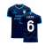 Lazio 2020-2021 Away Concept Football Kit (Viper) (LUCAS 6)