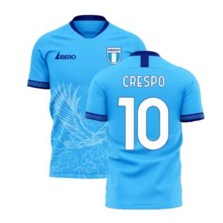 Lazio 2020-2021 Home Concept Football Kit (Libero) (CRESPO 10)