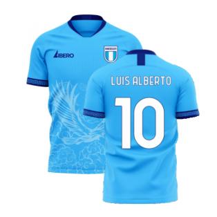 Lazio 2020-2021 Home Concept Football Kit (Libero) (LUIS ALBERTO 10)