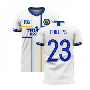 Leeds 2020-2021 Home Concept Football Kit (Fans Culture) (PHILLIPS 23)