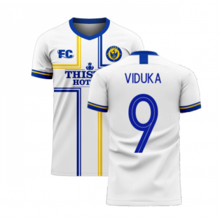 Leeds 2020-2021 Home Concept Football Kit (Fans Culture) (VIDUKA 9)