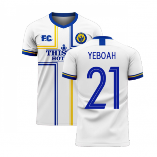 Leeds 2020-2021 Home Concept Football Kit (Fans Culture) (YEBOAH 21)