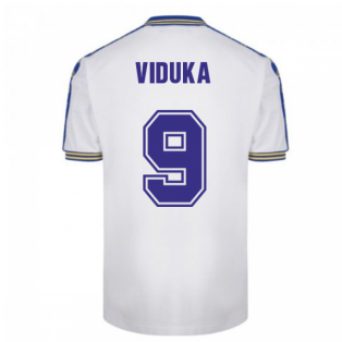 Leeds United 1978 Admiral Retro Football Shirt (VIDUKA 9)
