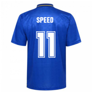 Leeds United 1993 Admiral Away Shirt (Speed 11)