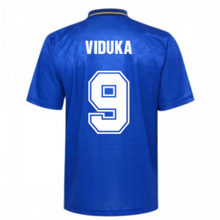 Leeds United 1993 Admiral Away Shirt (VIDUKA 9)