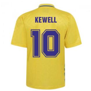 Leeds United 1993 Admiral Third Shirt (KEWELL 10)