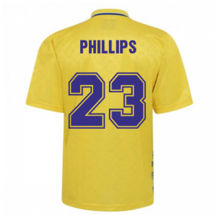 Leeds United 1993 Admiral Third Shirt (Phillips 23)