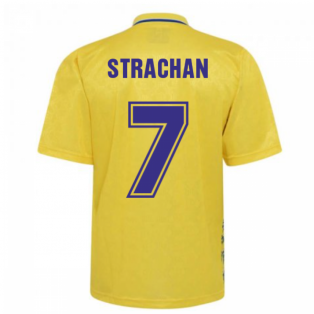 Leeds United 1993 Admiral Third Shirt (STRACHAN 7)