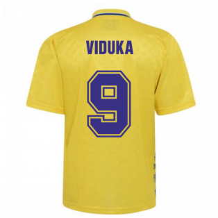 Leeds United 1993 Admiral Third Shirt (VIDUKA 9)