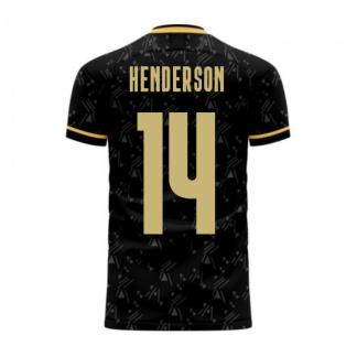 Liverpool 2020-2021 Away Concept Football Kit (Libero) (HENDERSON 14)