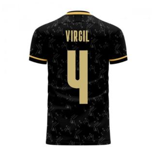 Liverpool 2020-2021 Away Concept Football Kit (Libero) (VIRGIL 4)