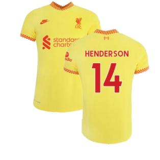 Liverpool 2021-2022 3rd Shirt (Kids) (HENDERSON 14)