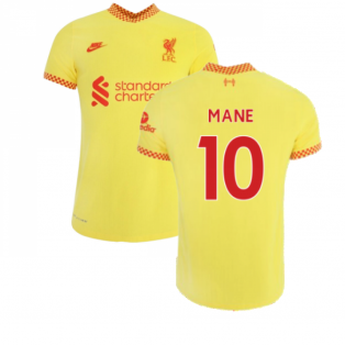 Liverpool 2021-2022 3rd Shirt (Kids) (MANE 10)