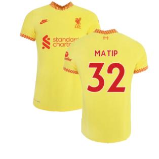 Liverpool 2021-2022 3rd Shirt (Kids) (MATIP 32)