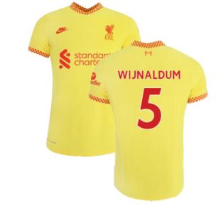 Liverpool 2021-2022 3rd Shirt (Kids) (WIJNALDUM 5)