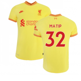 Liverpool 2021-2022 3rd Shirt (MATIP 32)