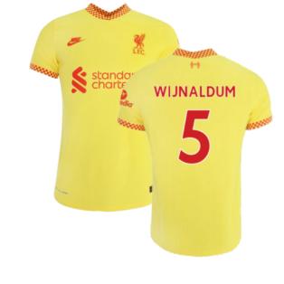 Liverpool 2021-2022 3rd Shirt (WIJNALDUM 5)